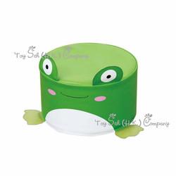 青蛙圓梳化凳