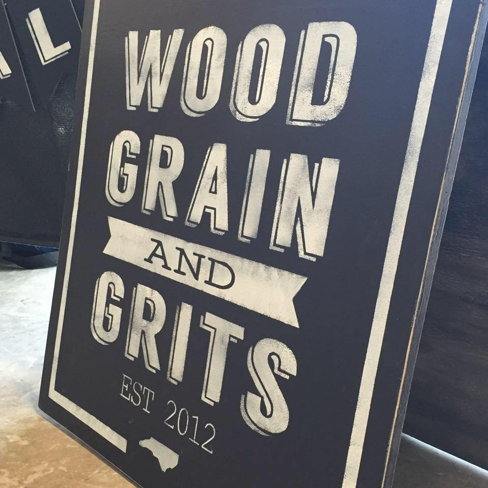 Wood Grain and Grits