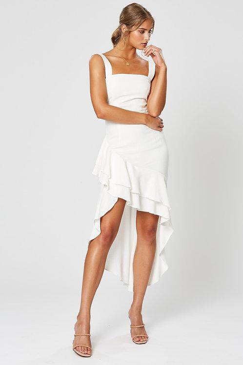 LIDIA ASYMMETRICAL DRESS