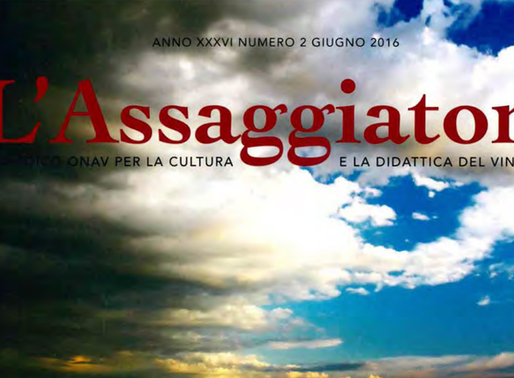 L'ASSAGGIATORE - PERIODICO ONAV - 02.06. 2016