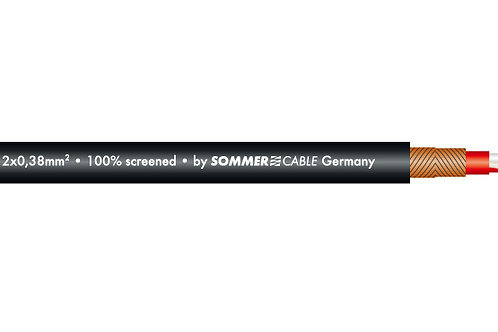 【SOMMER Cable】SC-GALILEO 238 ※NEUTRIK製 XLR3ピン金メッキコネクタ仕様 5m~