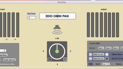 3 Dio OMNI用Pannerをリリース