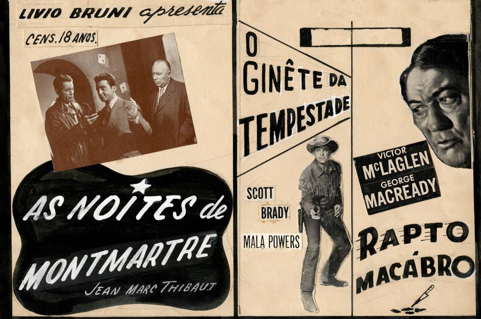LES NUITS DE MONTMARTRE / THE STORM RIDER / THE ABDUCTORS