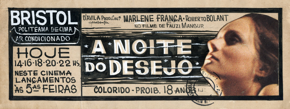 THE NIGHT OF DESIRE (free translation)