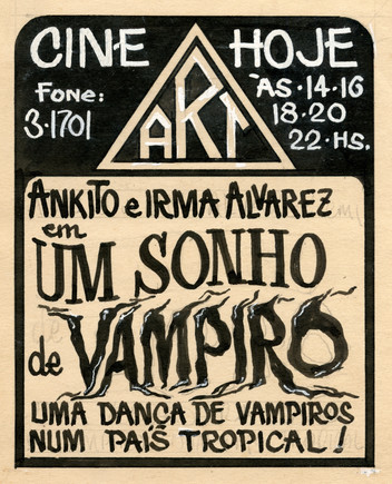 A VAMPIRE DREAM (free translation)