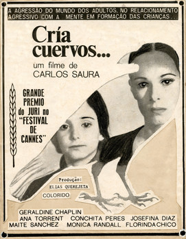RAISE RAVENS (Cría Cuervos, original title)