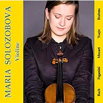 Maria Solozobova, Violine