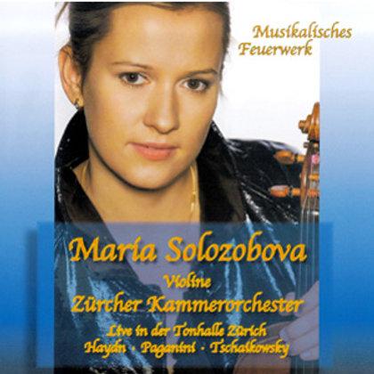 Maria Solozobova, Musikalisches Feuerwerk