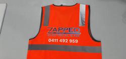 Printed vest