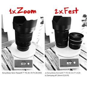 """""""Zoom Objektive sind was für Knipser"""""""