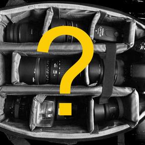 Was benötigst du für deine Fotos?