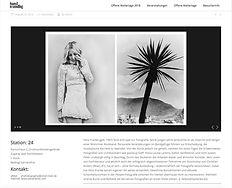 Ausstellung von Yens Franke im Kontorhaus bei Kunst in Sendling