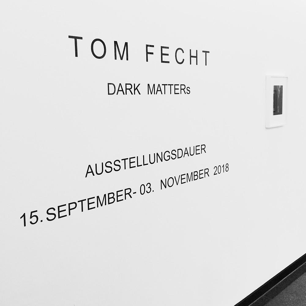 Tom Fecht Ausstellung Galerie Wittenbrink