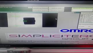 Sistema visione cliente BP Decollettage