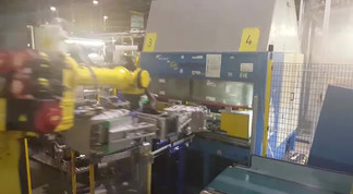 Hot blade welding system for Electrolux