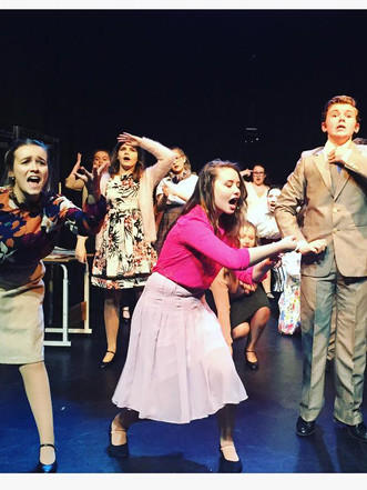 Musical Theatre Performance on Stage Glasgow