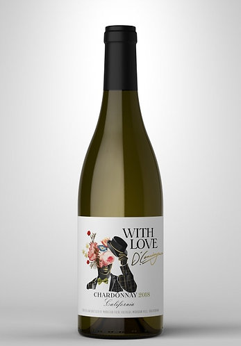 With Love Chardonnay - Trio (3) Bottles 750mL
