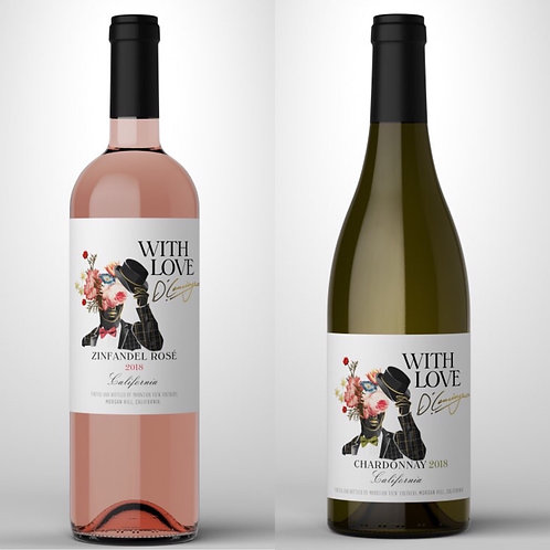 With Love Rosè & Chardonnay Duo