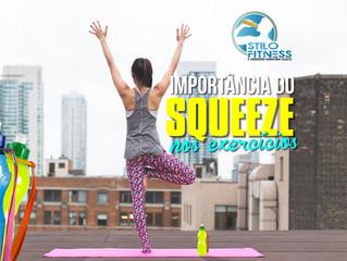 Importância do squeeze nos exercícios