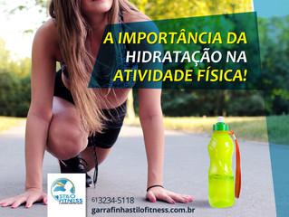 A importância da hidratação na atividade física