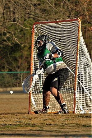 Asheville Gladiator Lacrosse Goalie