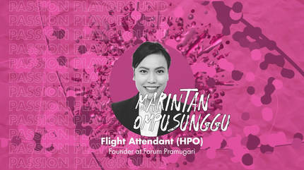 Flight Attendant (HPO) with Marintan Ompusunggu
