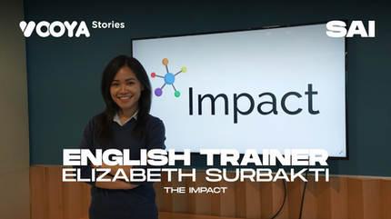 English Trainer with Lisa Surbakti