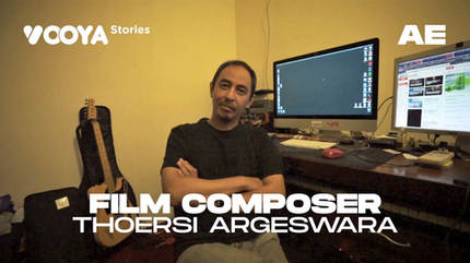 Film Composer with Thoersi Argeswara