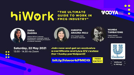 HiWork x Unilever - The Ultimate Guide to Work in FMCG Industry