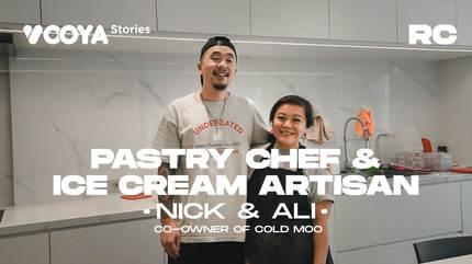 Pastry Chef & Ice Cream Artisan with Nick & Ali