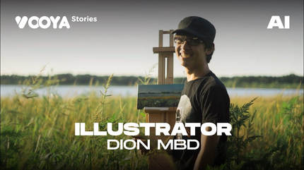 Illustrator with Dion MBD