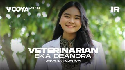 Veterinarian with Eka Deandra