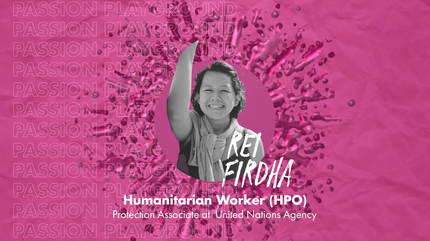 Humanitarian Worker (HPO) with Rei Firdha