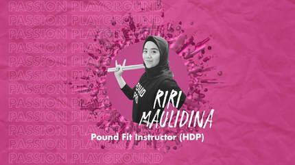 Pound Fit Instructor (HDP) with Riri Maulidina