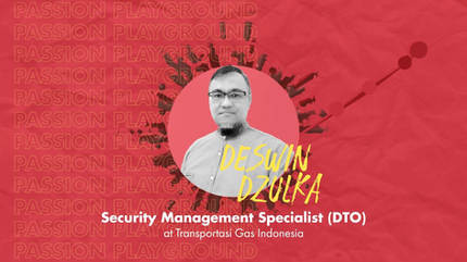 Security Management Specialist (DTO) with Deswin Dzulka