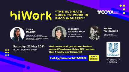 HiWork x Unilever - The Ultimate Guide to Work in FMCG