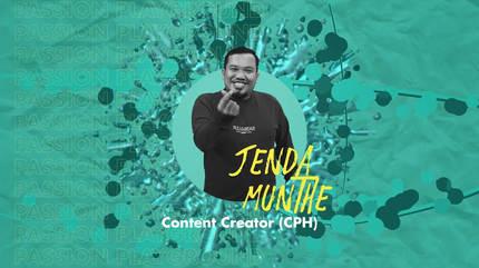 Content Creator (CPH) with Jenda Munthe