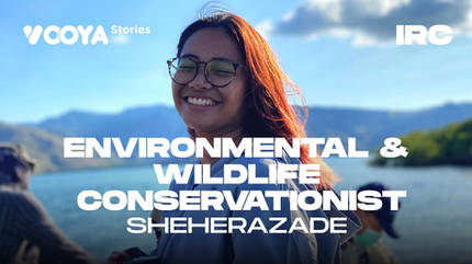 Environmental & Wildlife Conservationist with Sheherezade