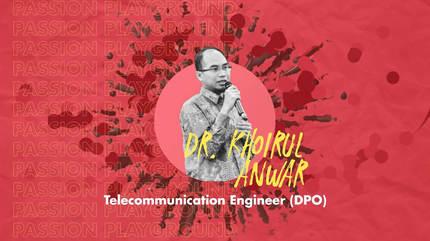 Telecommunication Engineer (DPO) with Dr. Khoirul Anwar