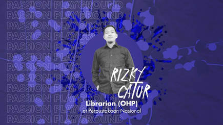 Playroom The Organizers - Librarian (OHP) with Rizky Catur