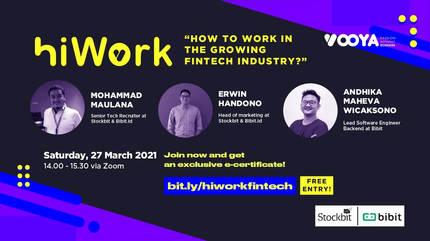HiWork x Bibit & Stockbit - The Ultimate Guide to Work in Fintech