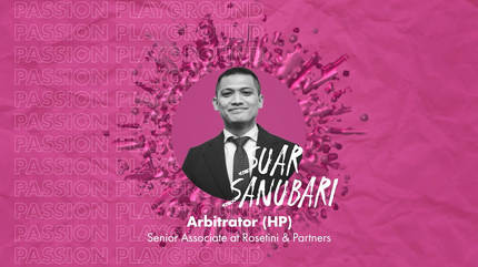 Arbitrator (HP) with Suar Sanubari