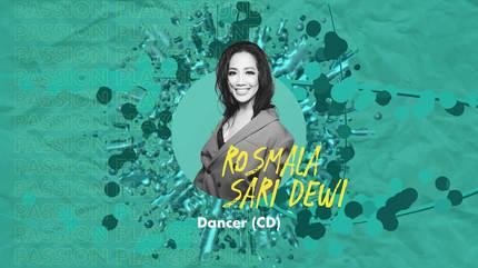 Dancer (CD) with Rosmala Sari Dewi