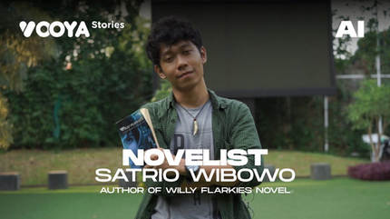 Novelist with Satrio Wibowo