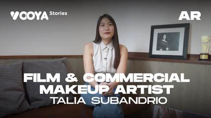 Film & Commercial Makeup Artist with Talia Subandrio