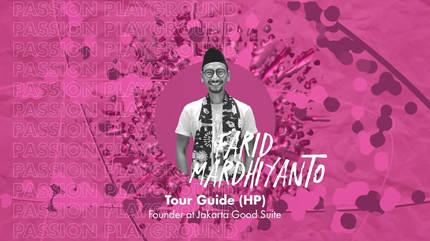 Tour Guide (HP) with Farid Mardhiyanto