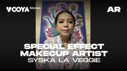 Special Effects Makeup Artist with Syska La Veggie