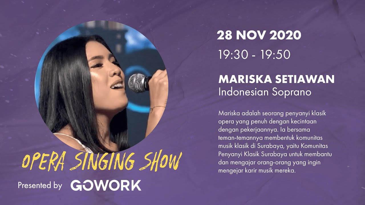 Opera Singer (CP) with Mariska Setiawan