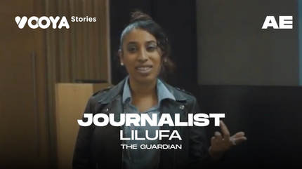 Journalist with Lilufa Udin