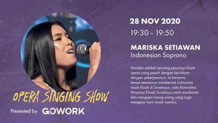 Passion Show - Opera Singer (CP) with Mariska Setiawan